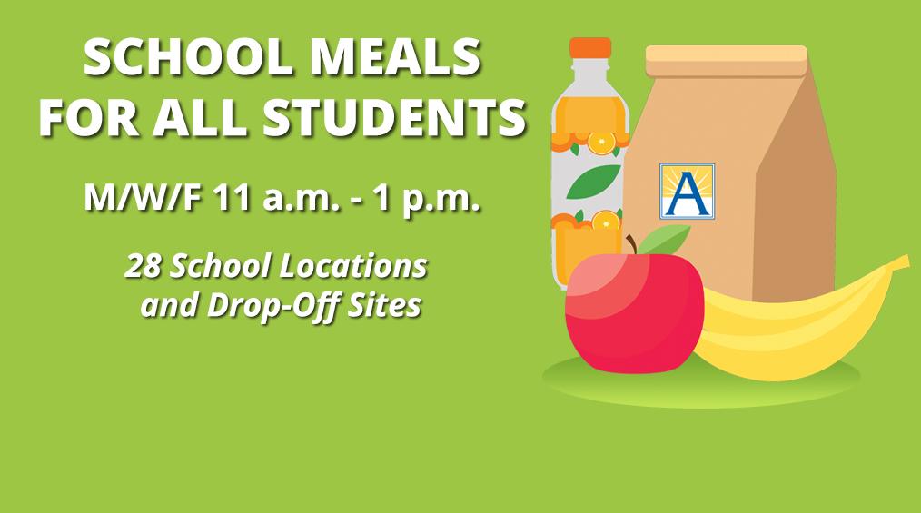 Free Lunch/Breakfasts and Other Resources-Almuerzo / Desayunos gratis y otros recursos